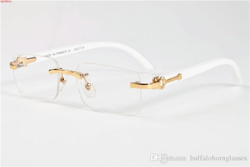 dde88c75963 New 2018 Wood Sunglasses For Men White Wooden Buffalo Horn Glasses ...