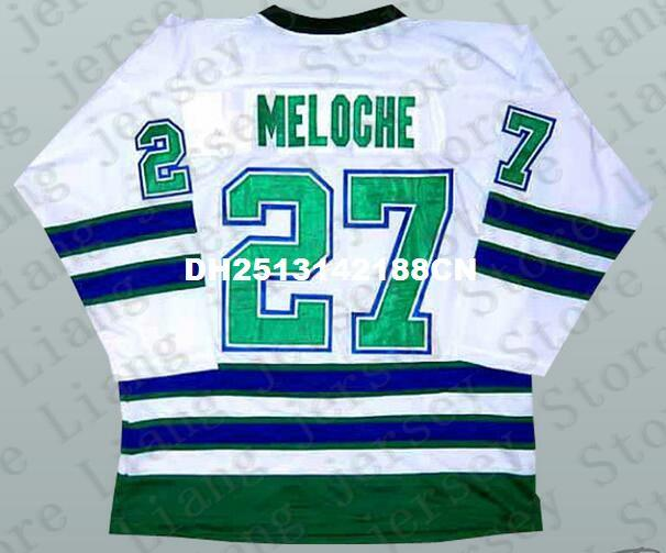 902e235a2 ... 2018 27 gilles meloche california golden seals oakland hockey jersey  white or custom any number name