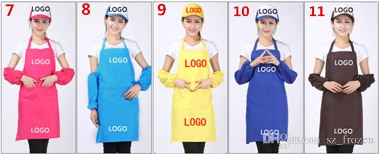 Adult Aprons Pocket Craft Cooking Baking Art Painting Adult Kitchen Dining Bib Aprons Aprons A-0381