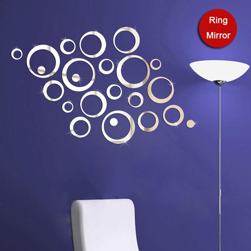 Specchi decorativi adesivi specchi forma astratto adesivi for Numeri adesivi leroy merlin