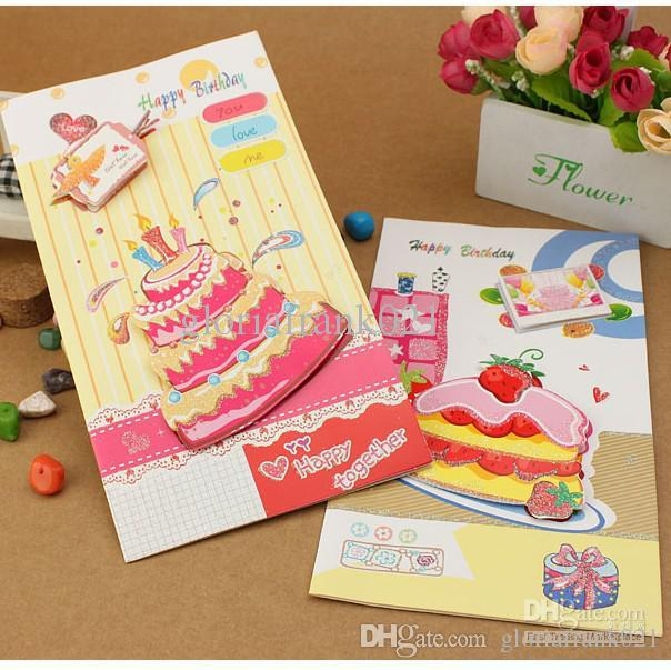 Birthday card brithday cake candle 8 patterns mixed greeting card birthday card brithday cake candle 8 patterns mixed greeting card with 3d sticker birthday gift card big size pack with blank envelope gift card printable bookmarktalkfo Gallery