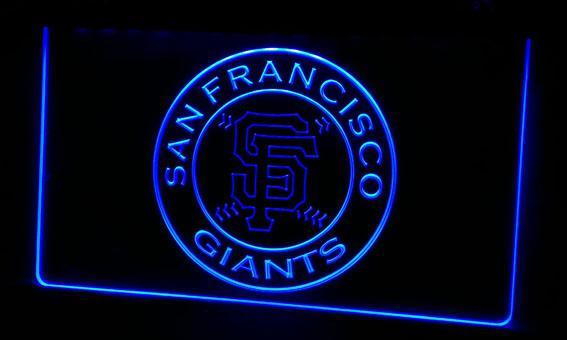 LS249-b San Francisco Giants-Neon Light Sign