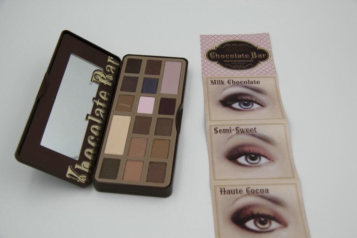 New Arrival Hot Makeup Chocolate Bar Eyeshadow Palette Semi Sweet