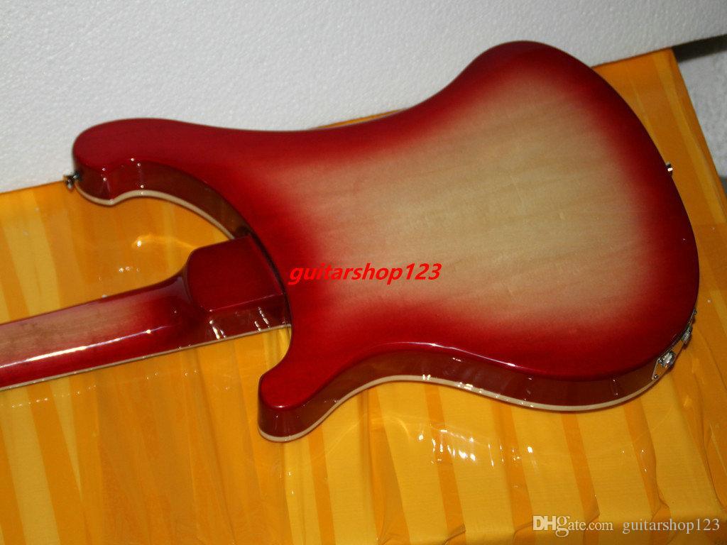 Bas Gitar Yeni Varış Kiraz Burst 4 Strings 4003 Elektrik Bas Yüksek Kalite Ücretsiz Kargo