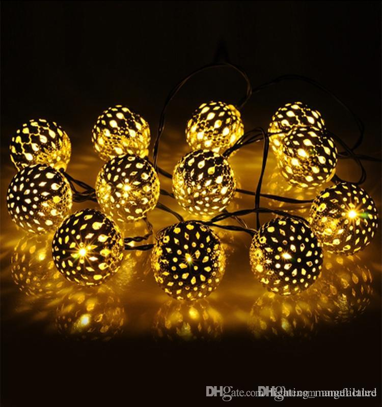 New morocco ball solar led strings outdoor holiday lighting led new morocco ball solar led strings outdoor holiday lighting led christmas lights garden lights wholesale led battery operated lights patio light string aloadofball Gallery