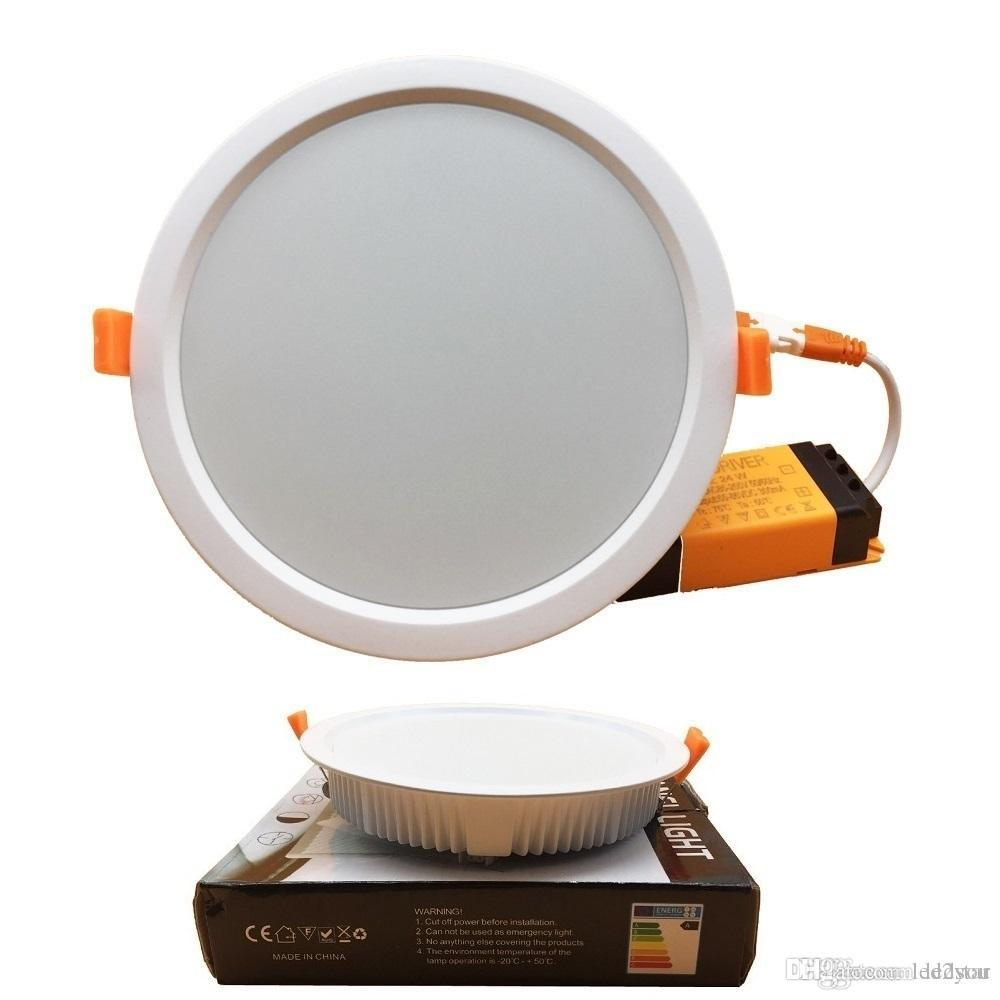 super bright dimmable led recessed downlights lamp 7w 16w 24w 32w rh dhgate com