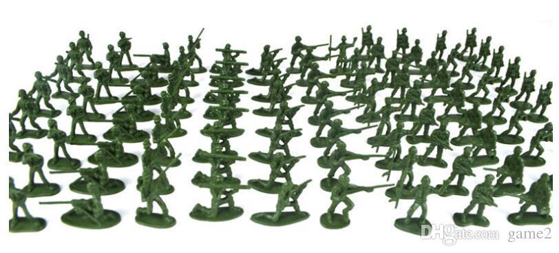 D172 100 Teile / los Weltkrieg Schwarzwald Schlacht Armee Us Army Military Soldat Bausteinziegelsteine Modell Spielzeug