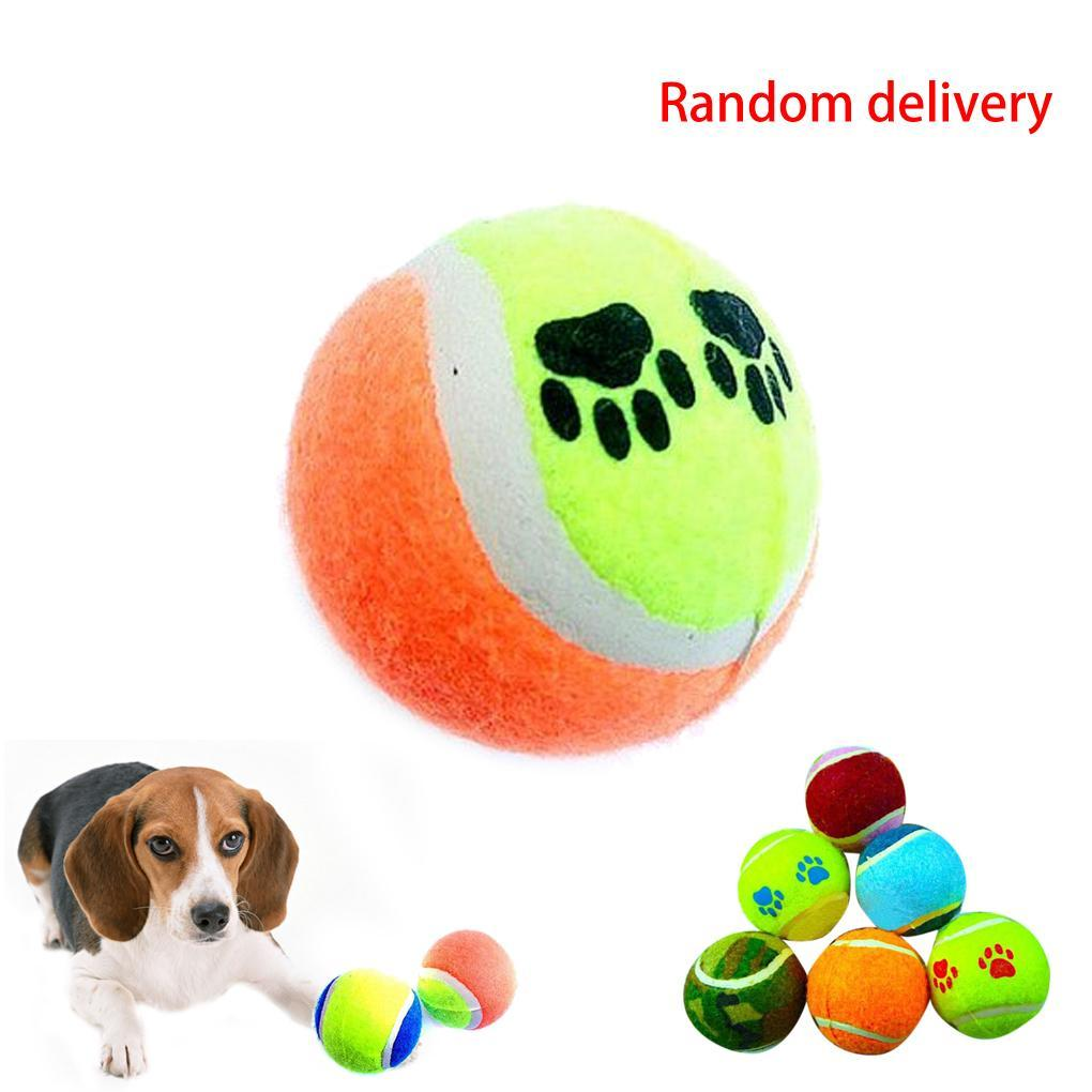 Pet Dog Chew Toys Trainning Playing Cotton Tennis Toys for Dogs ... | Dog Chew Toys That Last