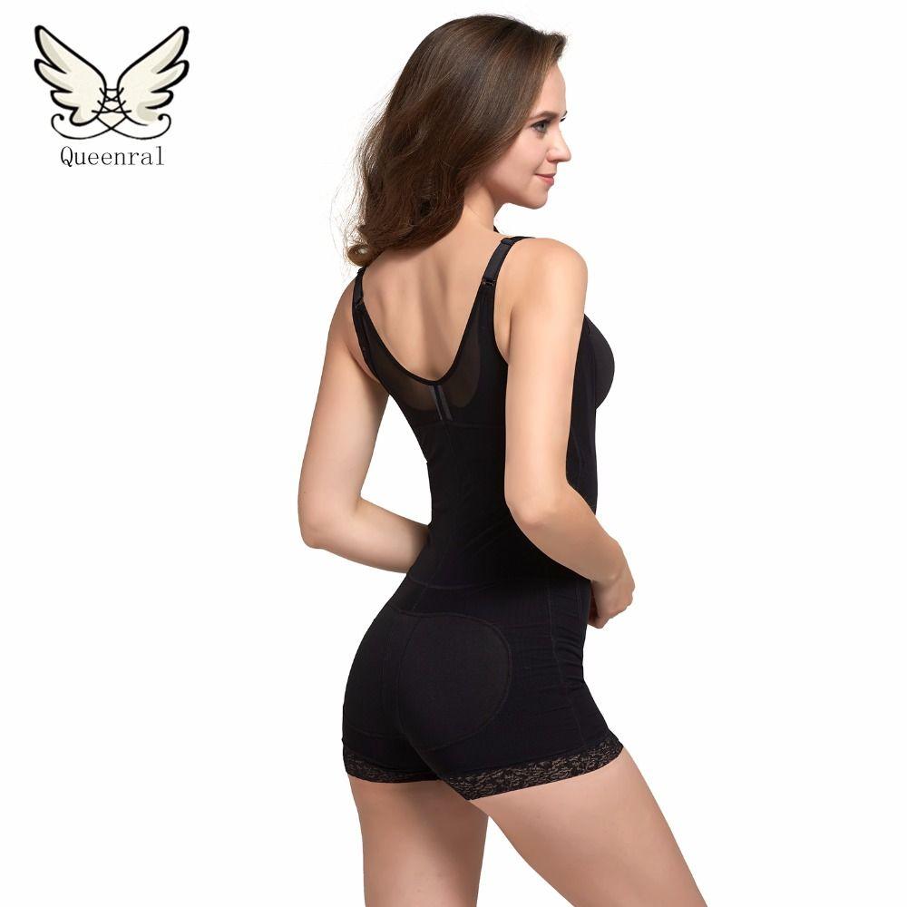 fc71f1971e 2019 Wholesale Waist Trainer Bodysuits Women Hot Shapers Corset Shaper  Slimming Underwear Butt Lifter Shapewear Slimming Suits Body Shaper From  Ario