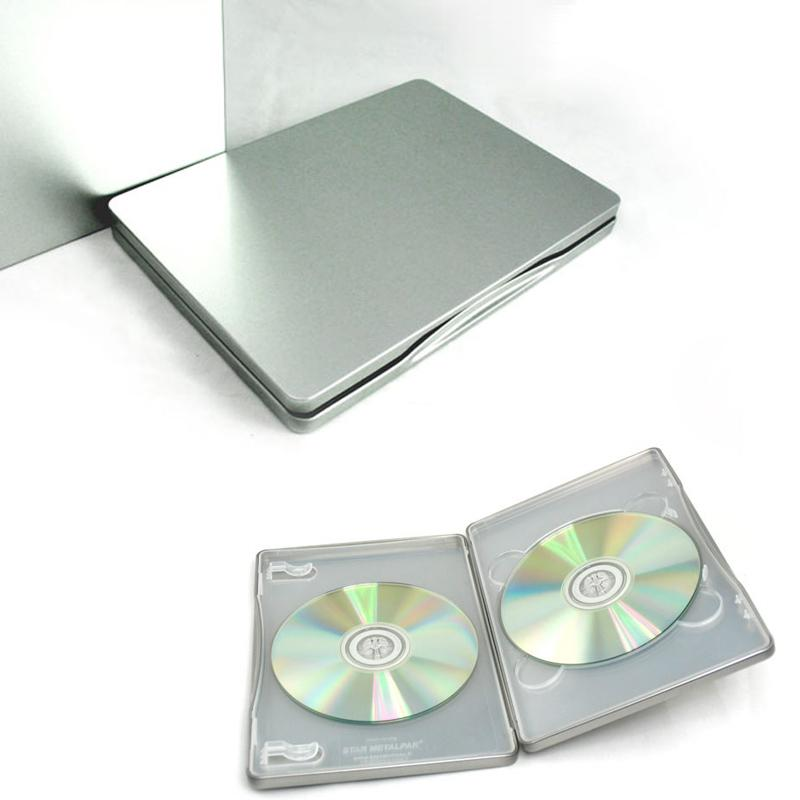 2017 Silver Metal Bland Diy Storage Case Tin Box Muji Double Cd/Vcd/Dvd Two  Disk Disco Mp3/Mp4 Cd Case From Oncebright, $12.57 | Dhgate.Com