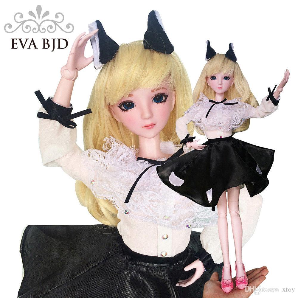 Gril Toy For Teenager : Cat women sd doll cm inch jointed dolls bjd toy