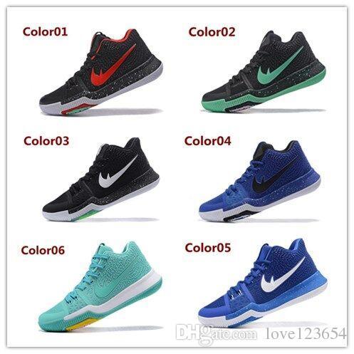 acheter mise À jour kyrie 3 basketball chaussures hommes femmes orange crossover huarache cavs kyri