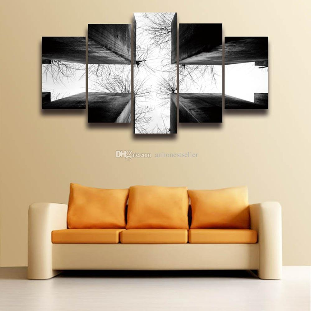 2018 Canvas Art Wall Picture Cross Christ