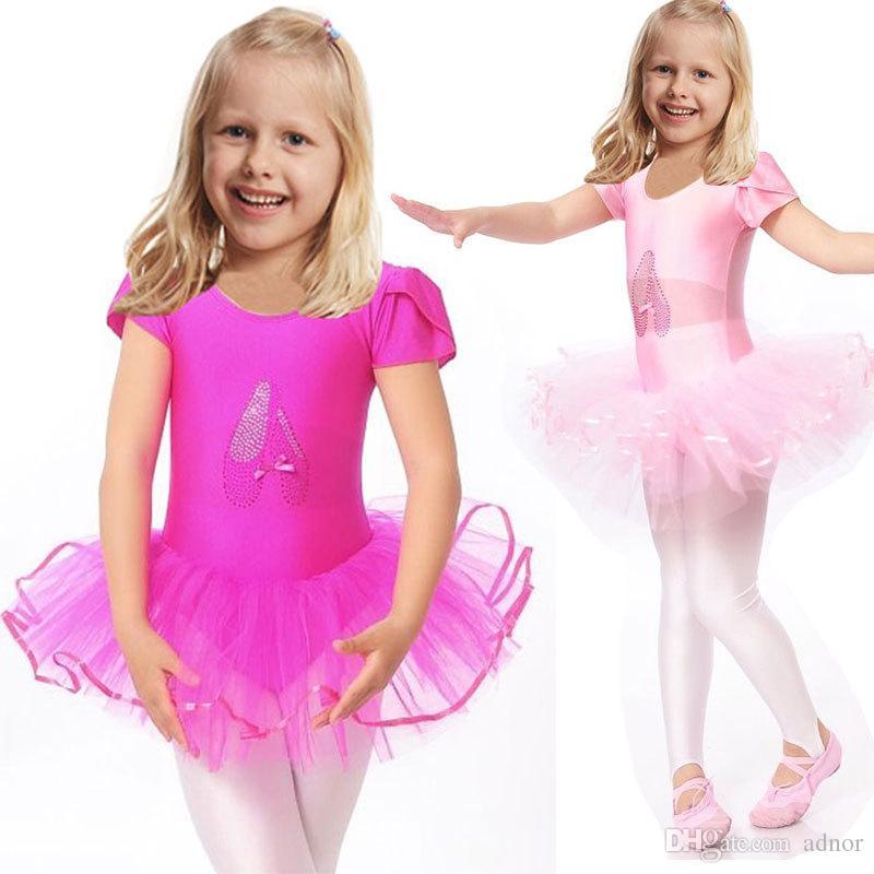 31063b08169a 2019 2016 Cute Girls Ballet Dress For Children Girl Dance Clothing ...