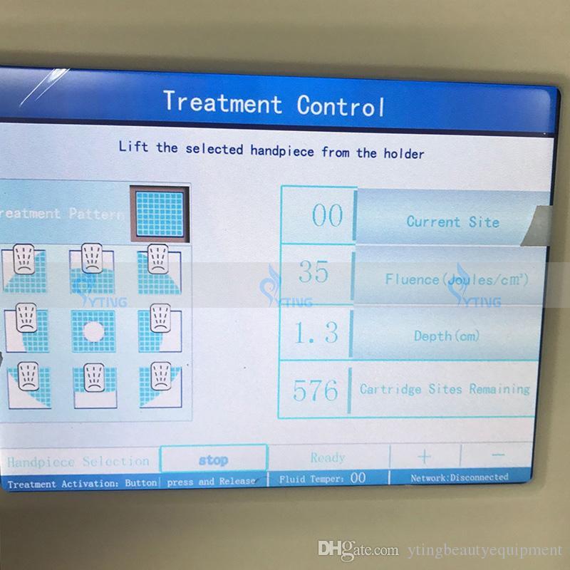 Ultrassom liposonix hifu apertar a máquina de remoção de celulite ultrasonic hifu perda de peso equipamentos de spa 0.8cm e 1.3cm cartrdige