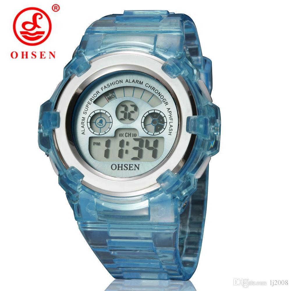 9c88553610f2 Compre Nuevo OHSEN Niños Niñas Niños es Luz LED Multifunción ...
