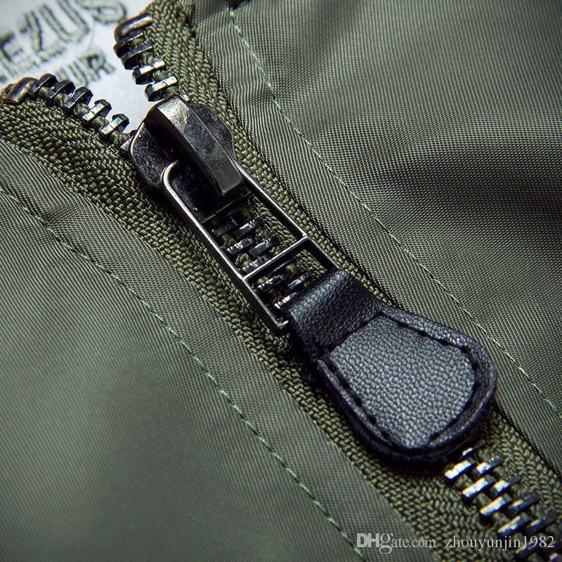 معطف الساخن بيع MA1 منفذها سترات الكبير سام كاني ويست Yeezus جولة الطيار خارجية رجال الجيش الأخضر MERCH الطيران