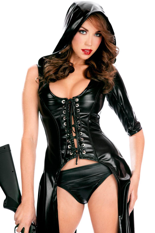 Sexy Faux Leather Costume Sex Slave Bondage Restricción Ropa Mujeres Adultos Juegos Ropa Erótica Flirt Wear cape