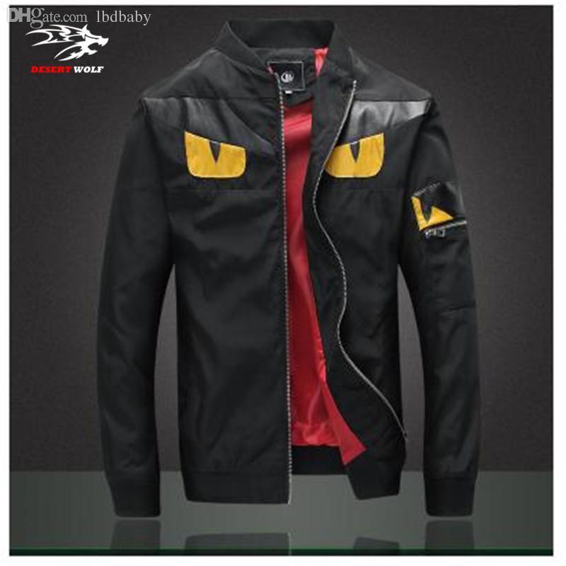 Fall Men'S Fashion Jackets 2016 Tide Brand Personality Coat Zipper ...