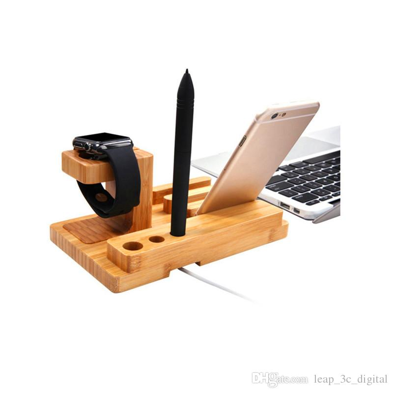 Newly Design Phone Holder For iPad iPhone Android Smart Watch Stander for Office Home Use Pen Holder