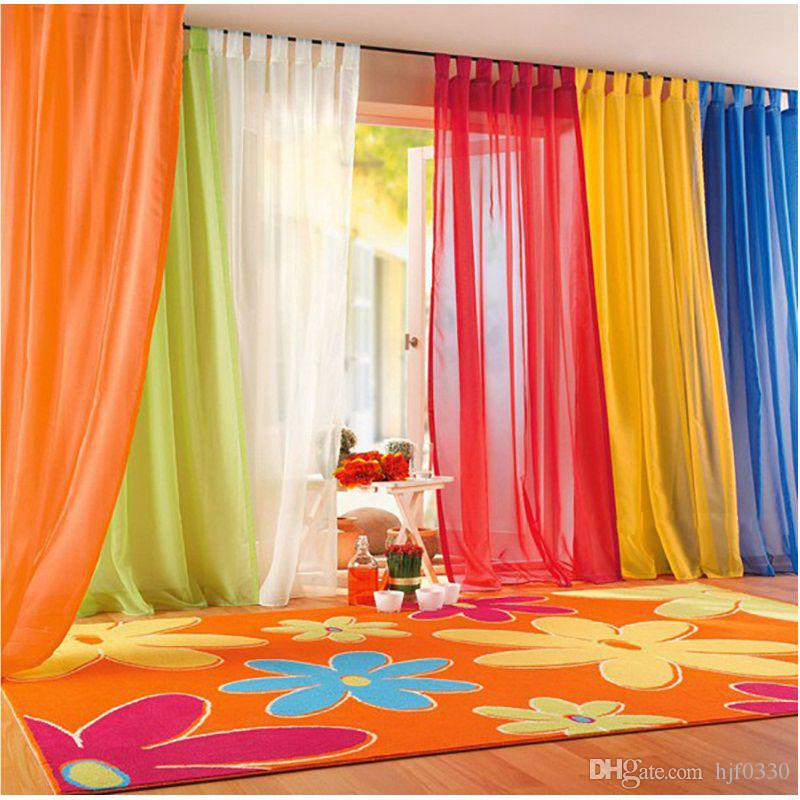 2019 sheer curtain for living room window tulle curtains for bedroom rh dhgate com