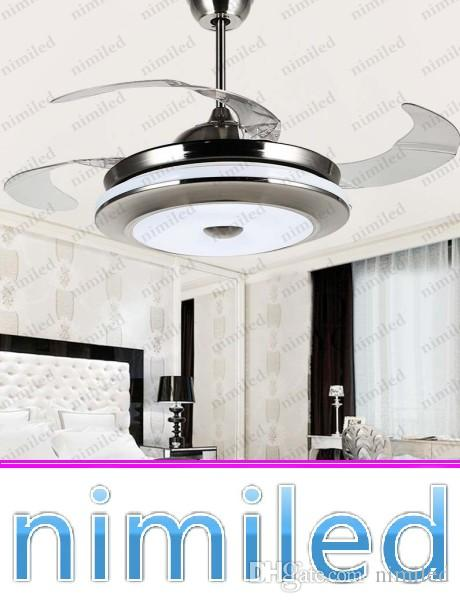 2019 nimi912 42 52 invisible ceiling fan light restaurant lights rh dhgate com