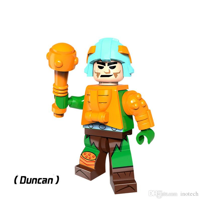 He man Masters Of The Universe Lego DYI Minifigure Gift For Kids Evil Lyn