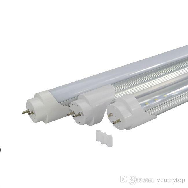 25Х продвижение горячие продаж 4 фута 1,2 м 1200 T8 светодиодные трубки 18W 96LEDS Natraul теплый холодный белый светодиодная лампа переменного тока 110-240В