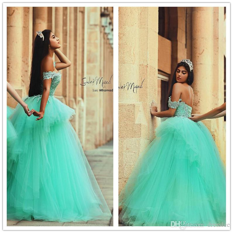mint green quinceanera dresses for girl sweet 16 off