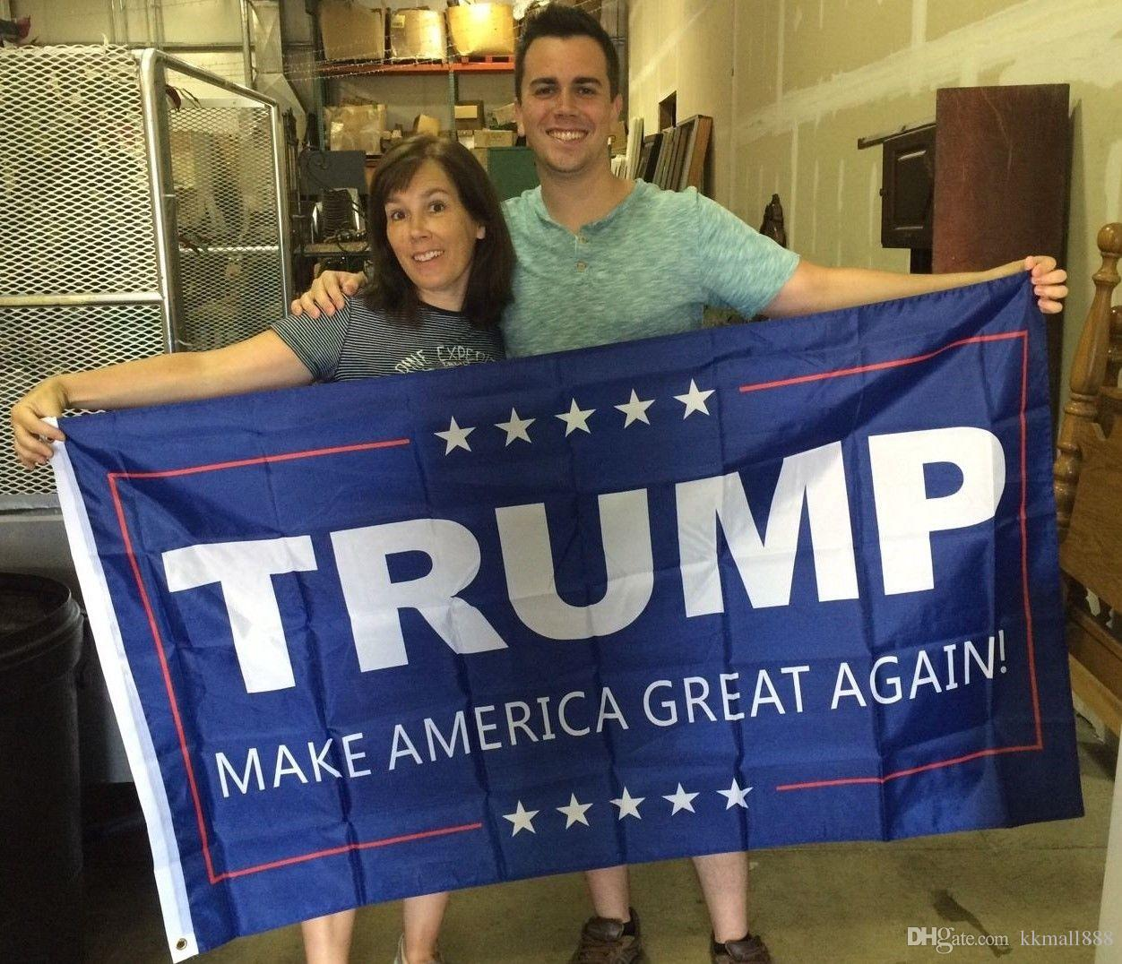 3x5ft Donald Trump Flag 2020 Keep America Great Again Polyester Dekor Banner für Präsidenten - USA Präsidentschaftswahl Flagge