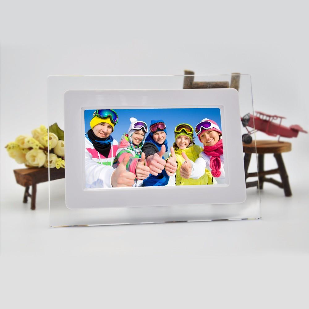 2018 Wholesale 7inch Hd Tft Lcd Wide Screen Desktop Digital Photo ...