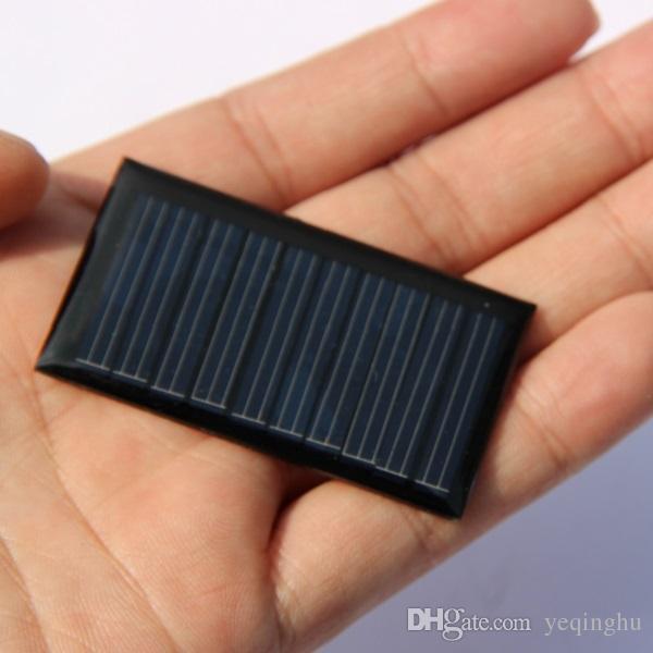 5 فولت 30ma مصغرة الكريستالات 0.15 واط الشمسية لوحة البطارية الشمسية شاحن ل diy التعليم دراسة مجموعات صغيرة 3.7 فولت بطارية لعبة