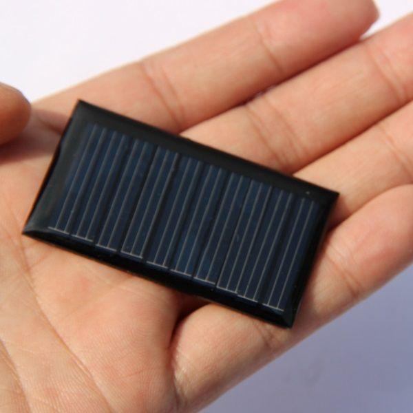 5 V 30mA Mini Policristalino 0.15 Watts Carregador de Painel de Bateria de Célula Solar Para DIY Estudo Educação Kits Pequeno 3.7 V Bateria Brinquedo