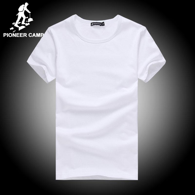 622e0c318fa9a X201710 Pioneer Camp T Shirt Men Brand Clothing Summer Solid T Shirt Male  Casual Tshirt Fashion Mens Short Sleeve Plus Size 4XL T Shirts Best Best  Funny ...