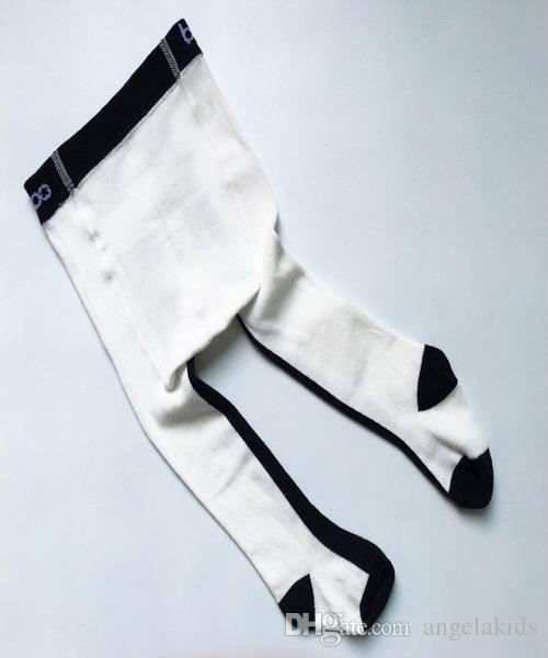 Kids Panty Pants Hot Sold Kids Girls Pants Multicolor Wild Color Vertical Stripes Child Leggings Black And White Vertical Stripes Tights