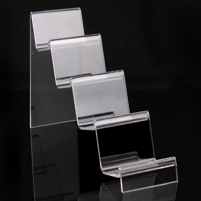 16 * 24.5 * 7 cm clair acrylique bracelets bangles montre portefeuille affichage support de bijoux avec un nouveau design agréable A92