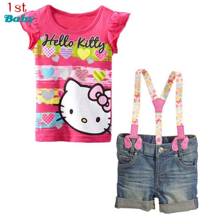 Großhandel Großhandels Baby Kleidung Sommer Sätze Kinder Kleidung ...
