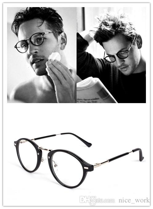 4ca7b58eea 2019 2017 Hot Sale Round Glasses Frames For Women Men Optical Frame Oculos  De Grau Vintage Eyeglasses Glasses Frame Eyewear Clear Lens 2234 From  Nice work
