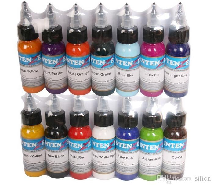 Tattoo Ink Set Pigments Permanent Makeup 30ml Cosmetic Color Tattoo ...