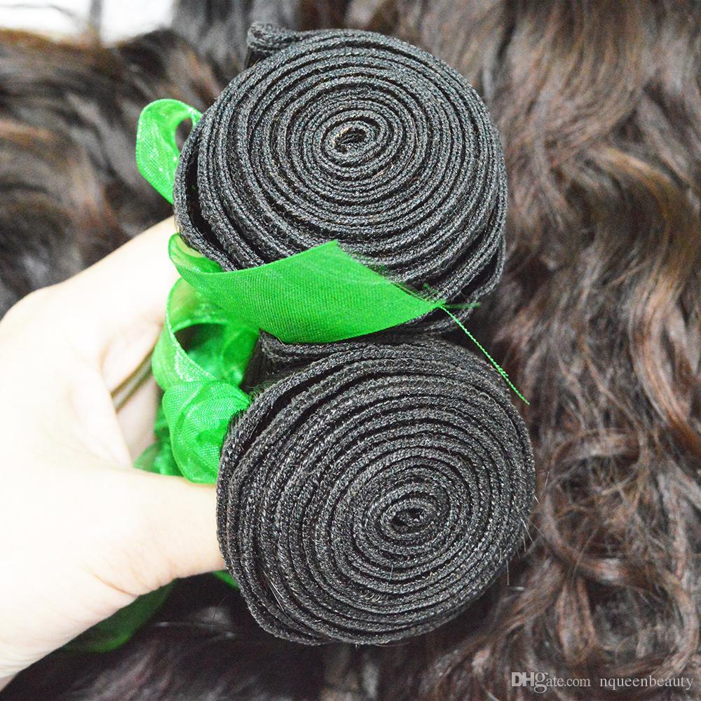 Dhgate peerless شعر الإنسان الكامل من الهرة الهندي فتاة a / 300g نوعية جيدة غير المجهزة الشعر النسيج شحن مجاني عبر dhl
