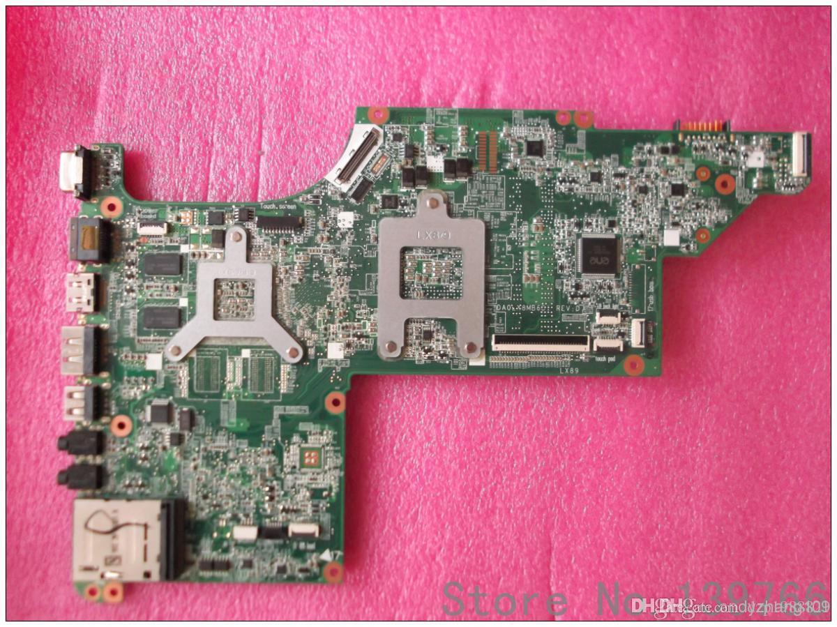 595133-001 Bord für HP Pavilion DV6 DV6Z DV6-3000 Laptop Motherboard DDR3 mit AMD-Chipsatz HD5470