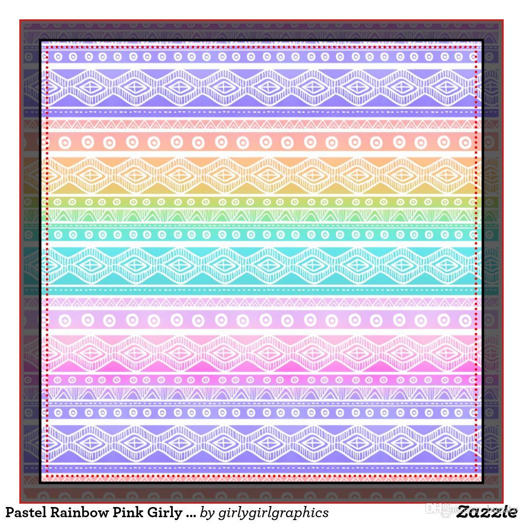 Pastellregenbogenrosa girly aztekisches Throwkissen 50% Baumwolle und 50% Leinenmaterialfarbe wie gezeigt 16x16inch 18x18inch 20x20inch
