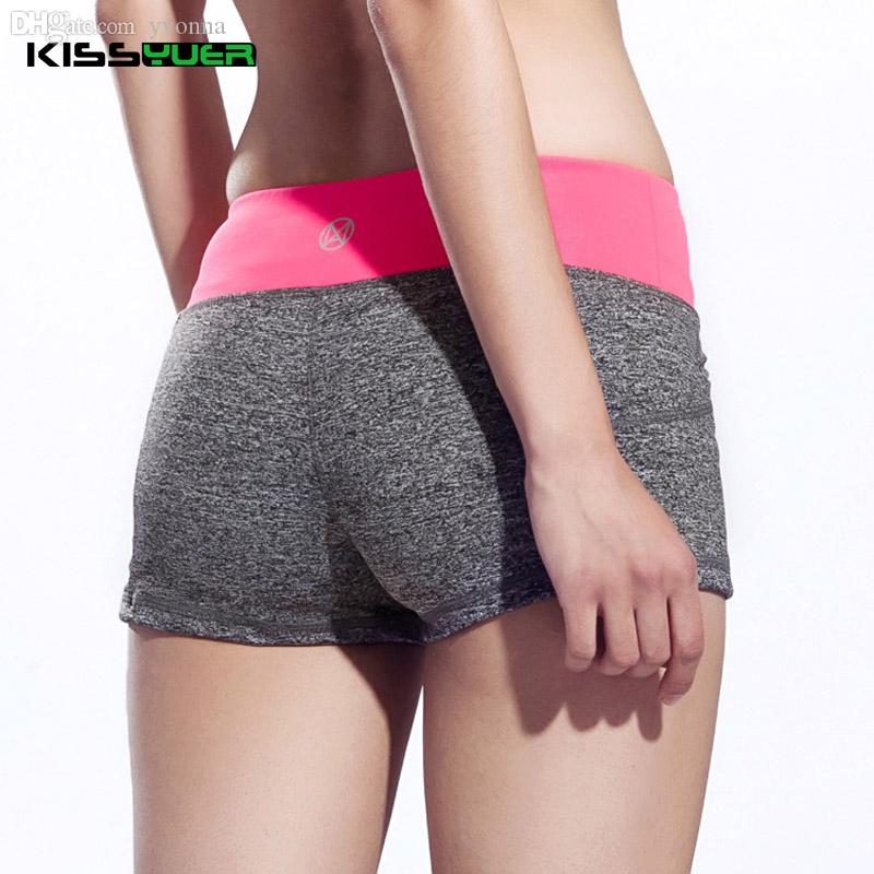 2019 Wholesale KISSyuer Women Fitness Yoga Shorts For