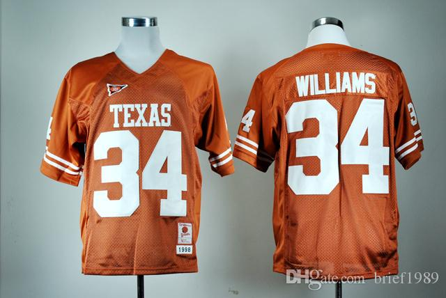 new product f9d00 7f6a1 ncaa jerseys texas longhorns 20 earl campbell burnt orange ...