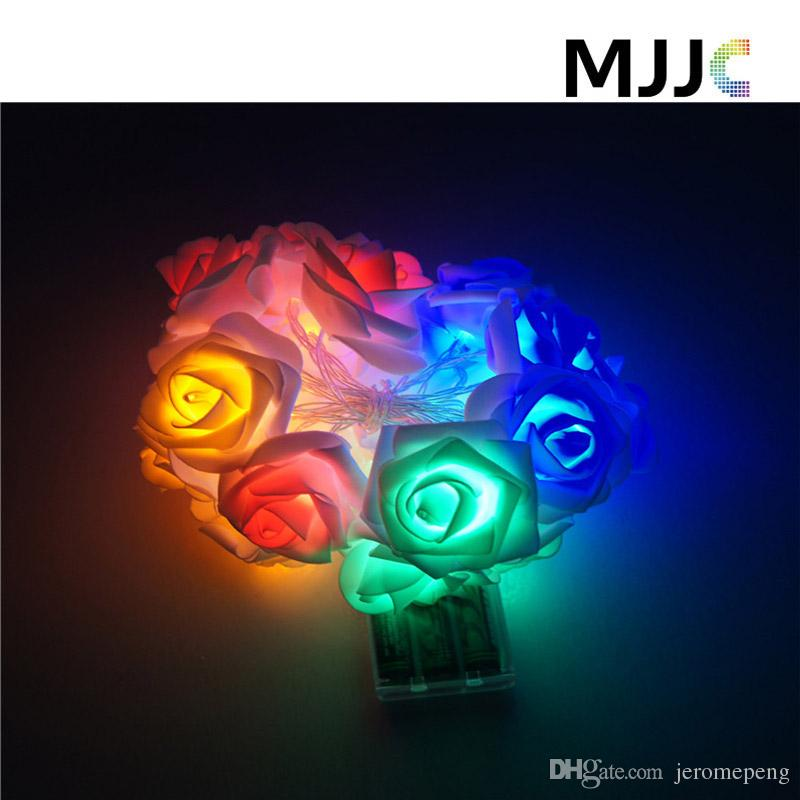 Lights & Lighting Lower Price with 3m 30 Leds Rose Led String Fairy Holiday Night Lights Festival Christmas Lights Outdoor Party Wedding Decorations Warmwhite 4.5v