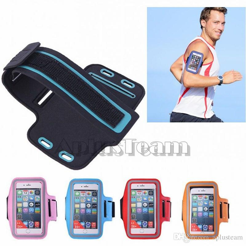 best authentic 6f057 06c23 For iphone 7 Sport Running Armband Case Workout Holder Pouch Antistatic  Waterproof phone Bag Cover For iphone 7 plus 6s Samsung S7 S6