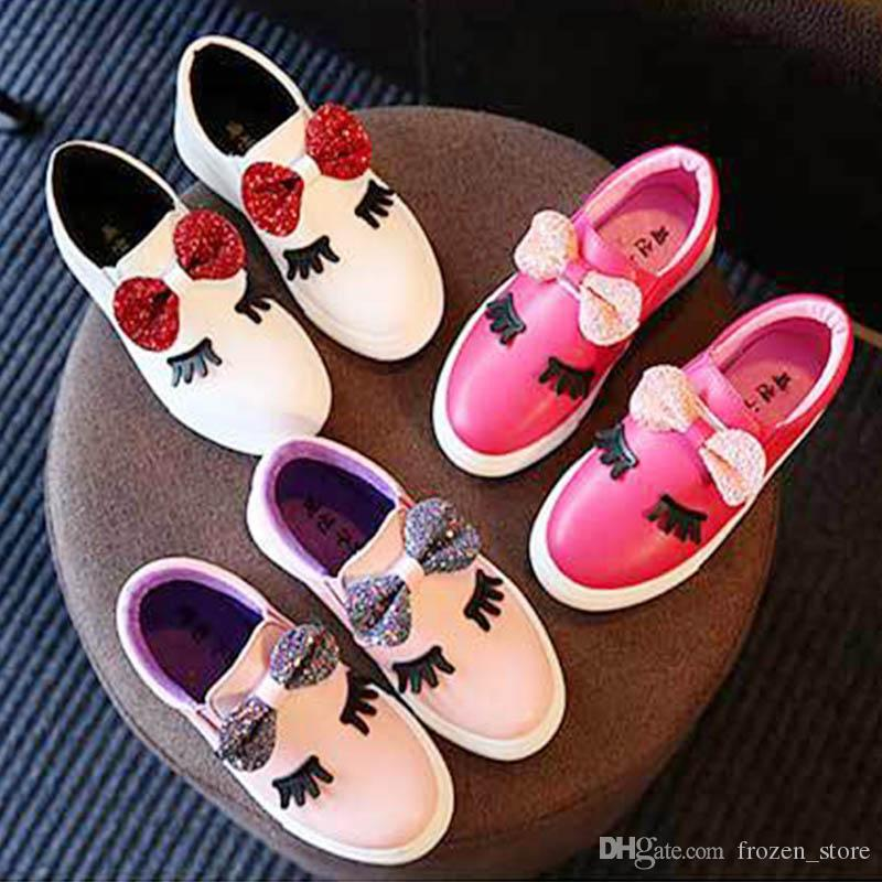 2017 Autumn Fashion Children s Shoes Girls Princess Toddler Baby Shoes Girl  Boots for Kids Bow-knot Eyelash 2104052 Girls Casual Shoes Kids Bow-knot  Shoes ... 856524a9d2cc