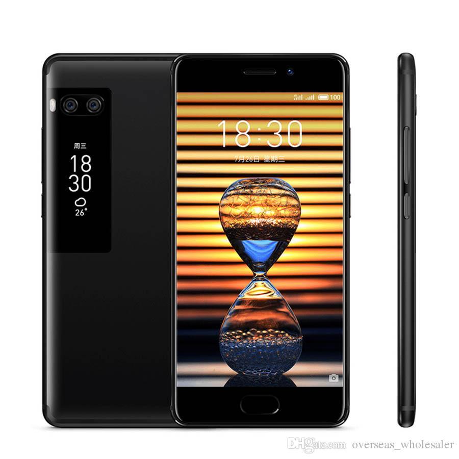 "Original Meizu Pro 7 4G LTE Mobile Phone 4GB RAM 64GB/128GB ROM MTK Helio X30 Deca Core Android 5.2"" 16.0MP Fingerprint ID Smart Cell Phone"