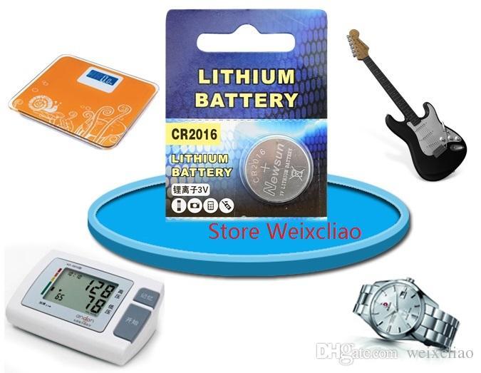 1 CR2016 3V lithium li ion button cell battery CR 2016 3 Volt li-ion coin batteries