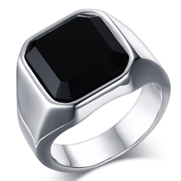 hematite shape ct jewellery stone gold women square signet s rings yellow ring theia onix men or uk ac amazon co onyx